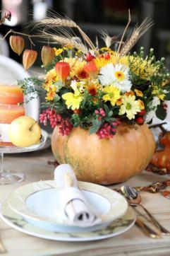 centrotavola frutta e fiori
