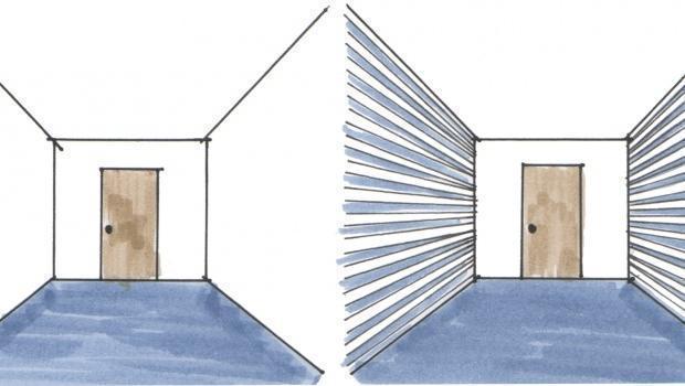 Come trasformare la casa con le illusioni ottiche for Trasformare casa