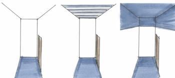 Soluzioni per un stanza lunga e stretta