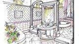 Progetto per bagno classico