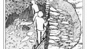 Realizzazione dei muri a secco