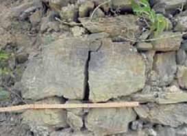 fratturazione muro a secco(da presentazione lezione muri e fondazioni)