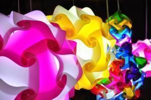 lampade multicolor