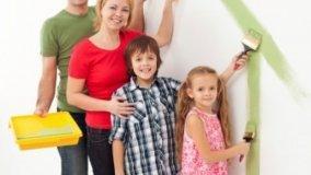 Pitture ecologiche per la camera dei bambini