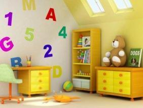 Vernici Cameretta Bambini : Pitture ecologiche per la camera dei bambini