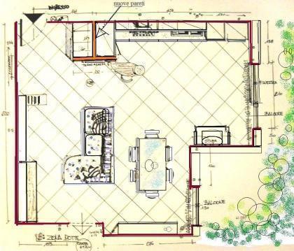 Una Casa Con Zona Giorno Open Space E Camera Sottotetto Cose Di Casa ...