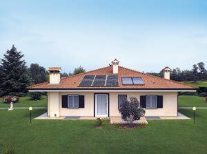 Solar Energy: Villetta con sistemaSuper Solar Top 7