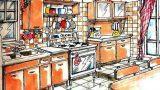 Cucina anni '50