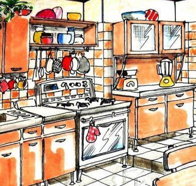 Cucina anni \'50