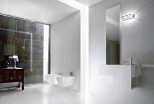 Illuminazione bagno soffitto design casa creativa e - Bagno cieco illuminazione ...