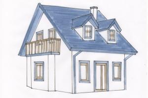 Come scegliere il colore esterno della casa - Colore esterno casa campagna ...