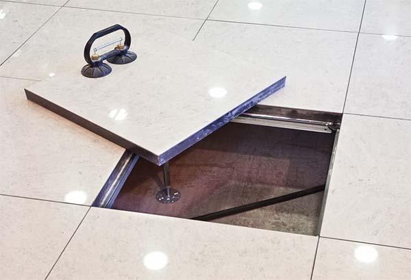 Pannelli removibili pavimento sopraelevato di NESITE