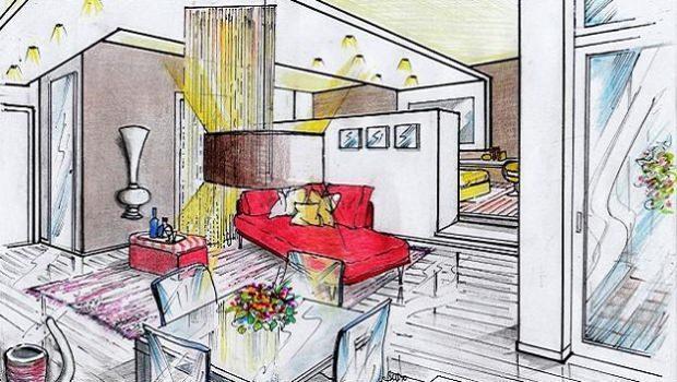 Progetto appartamento 30 mq for Progettare un appartamento