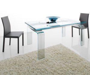 Open space: COM.P.AR, tavolo Light allungabile