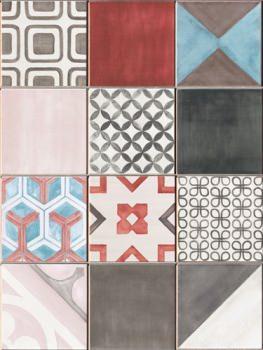 Geometria e fantasia per le piastrelle della cucina - Alternativa piastrelle cucina ...