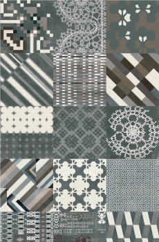 Geometria e fantasia per le piastrelle della cucina for Piastrelle cucina fantasia
