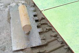 pavimento in piastrelle
