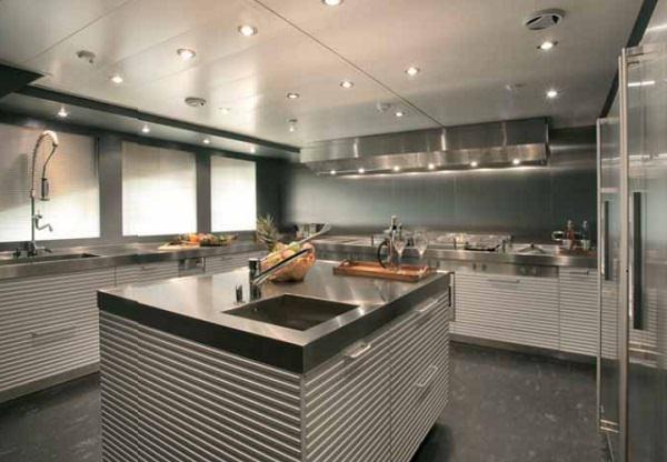 Cucina da yacht: Ernestomeda, CRN Ability, Silverbox