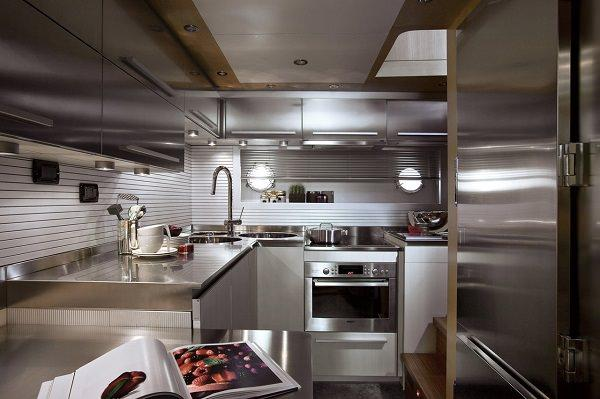 Cucina da yacht - Cucine professionali da casa ...