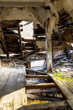 legno degradato