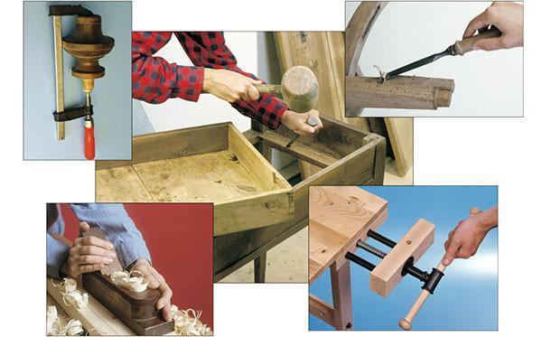Varie riparazioni su mobili