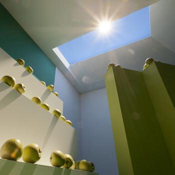 L'illuminazione con il sole artificiale e la sua atmosfera