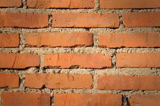 giunti di malta nei muri in mattoni