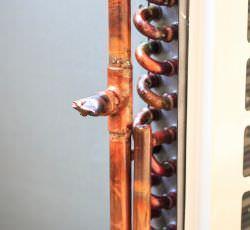 rame impianto radiante