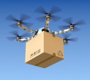 Drone per trasporto