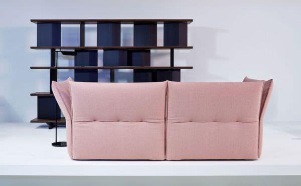 divano con schienale alto mariposa di vitra