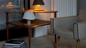 Illuminazione in legno