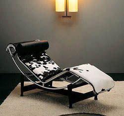 chaise longue LC4 di Cassina