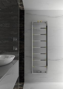 Scaldasalviette e radiatori di design for Portasalviette bagno design