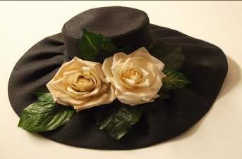 Cappello con fiore Sogni d'Arte