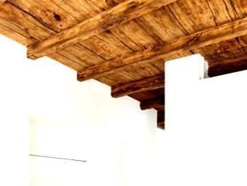 un solaio in legno