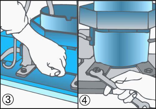 Manutenzione frigorifero e controllo motore