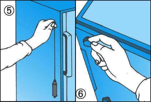 Manutenzione frigorifero e controllo stabilità