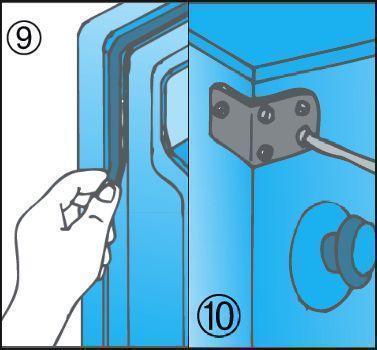 Manutenzione frigorifero e controllo ruggine