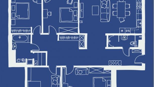 Rilievo e disegno di una stanza for Disegnare progetto casa