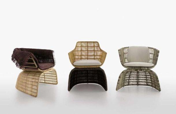 sedie per outdoor crinoline, B&B