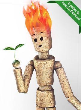 pellet prodotto ecologico ( di OkoFEN )