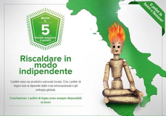 Caldaie a pellet: riscaldare in modo indipendente di OkoFEN Italia Srl
