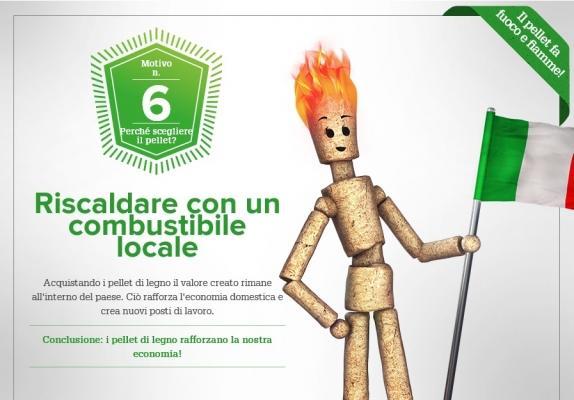 Caldaie a pellet: riscaldare con combustibile locale di OkoFEN Italia Srl