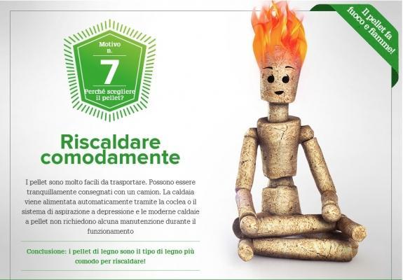 Caldaie a pellet: riscaldare comodamente di OkoFEN Italia Srl