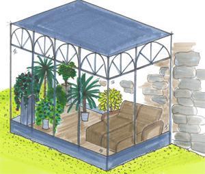 Giardino d 39 inverno - Giardino d inverno catania ...