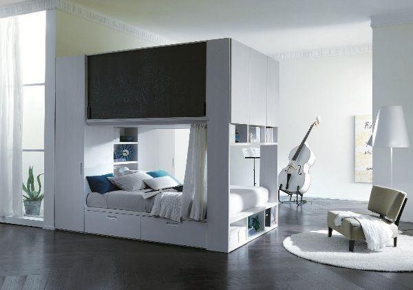 Sfruttare gli spazi - Soluzioni letto per piccoli spazi ...