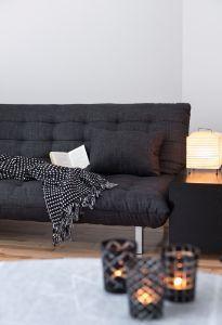 sfruttare gli spazi con divano letto