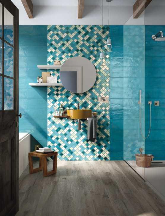 Mattonelle bagno collezione Shades di Imola Tiles full of Life