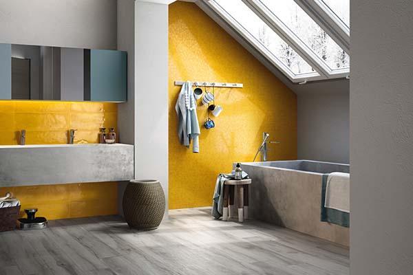 Imola Tiles full of Life: collezione Shades per bagno