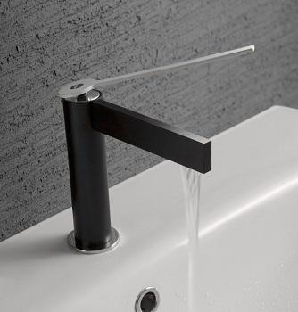 Rubinetti e soffioni di design in bagno: Treemme, Time
